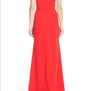 BCBGMaxAzria stunning red dress